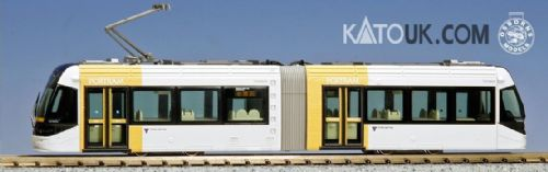 Kato 14-801-6 N TLR0607 yellow Tram